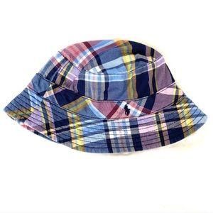 Ralph Lauren Plaid Bucket Hat